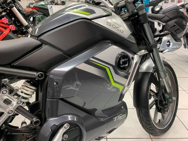 Vmoto Super Soco TS TSX - NOW IN STOCK Commuter Electric Silver